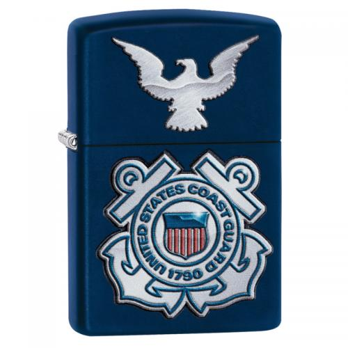 Zippo - USCG Seal And Eagle - Windproof Lighter