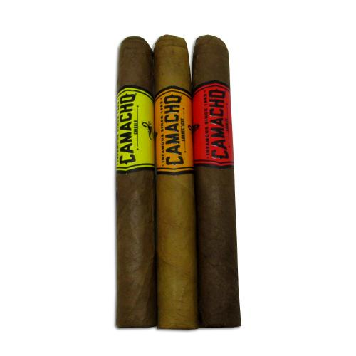 Camacho Mixed Machitos Sampler - 3 Cigars