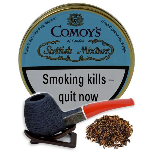 Comoys Scottish Mixture Pipe Tobacco 50g Tin