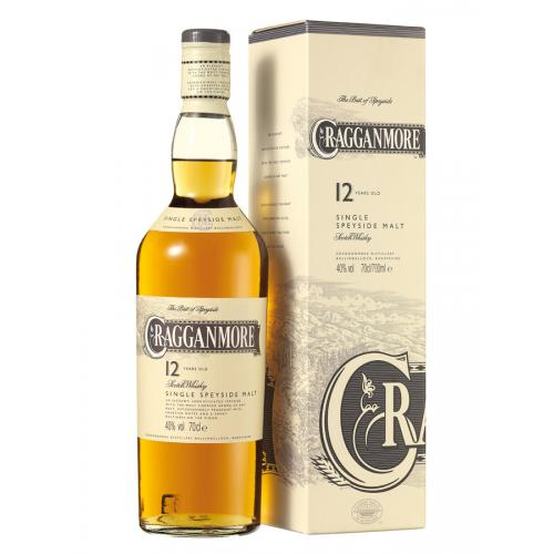 Cragganmore 12 Year Old Single Malt Scotch Whisky - 70cl 40%