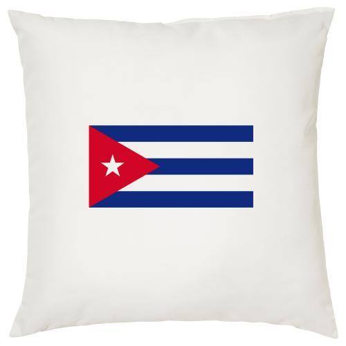 Cuba Flag - Cigar Themed Cushion