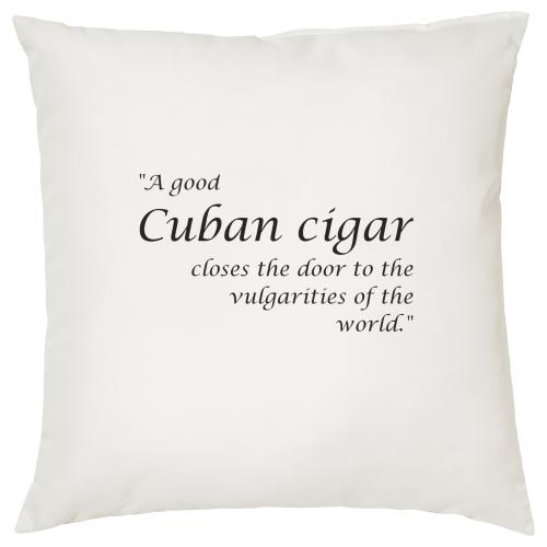 Cuban Cigar - Cigar Themed Cushion