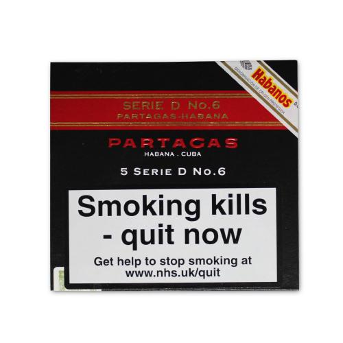 Partagas Serie D No. 6 Cigar - Pack of 5
