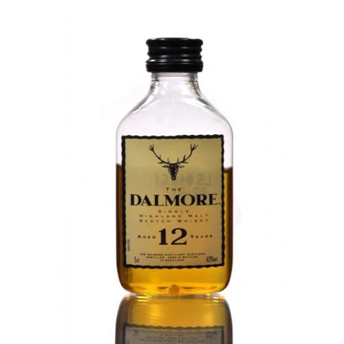 Dalmore 12 Year Old Whisky Miniature - 5cl 43%