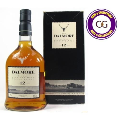 Dalmore 12 Year Old 1990s Single Malt Scotch Whisky - 70cl 40%