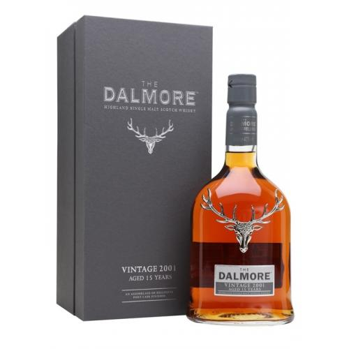 Dalmore 15 Year Old Vintage 2001 Single Malt Scotch Whisky - 70cl 40%