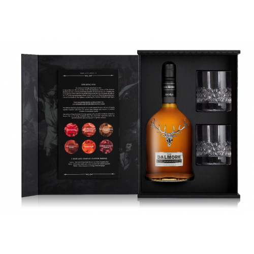 Dalmore King Alexander III Glass Pack – 70cl and 2 Glasses