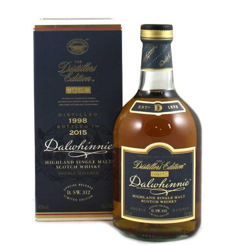 Dalwhinnie Distillers Edition Oloroso Finish Single Malt Scotch Whisky- 70cl 43%