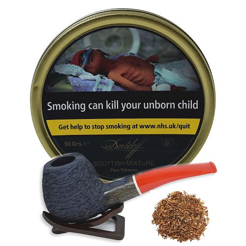 Davidoff Scottish Mixture Pipe Tobacco 50g Tin