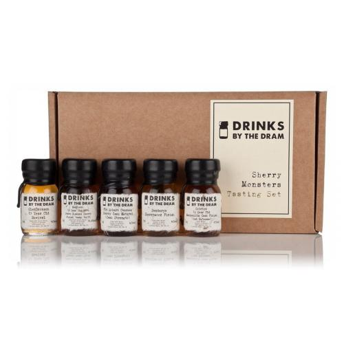 Drinks by the Dram Sherry Monsters Whisky Tasting Set - 5x3cl 47.3%