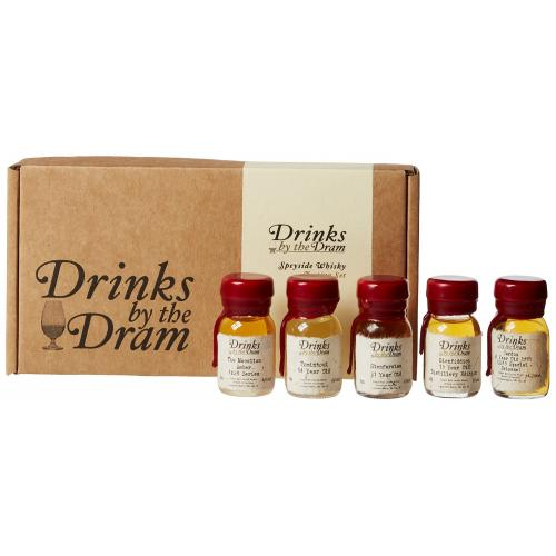Drinks by the Dram Speyside Whisky Tasting Set - 5x3cl 42.5%