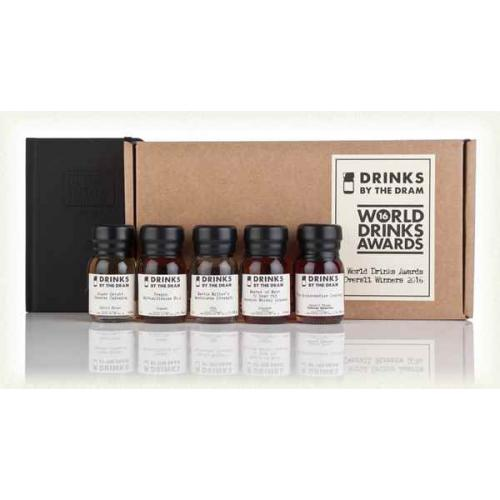 Drinks by the Dram World Drinks Awards 2016 Overall Winners Tasting Set - 5x3cl