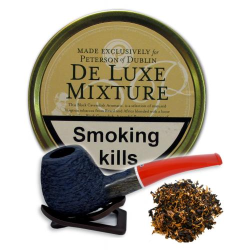 Peterson De Luxe Mixture Pipe Tobacco 050g (Tin)