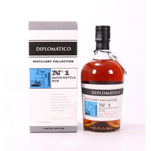 Diplomatico No.1 Batch Distillery Collection Kettle Rum - 70cl 47%