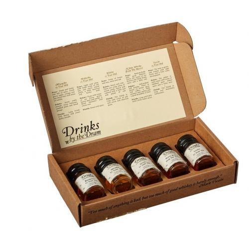 Drinks by the Dram Japanese Whisky Tasting Set - 5 x 3cl
