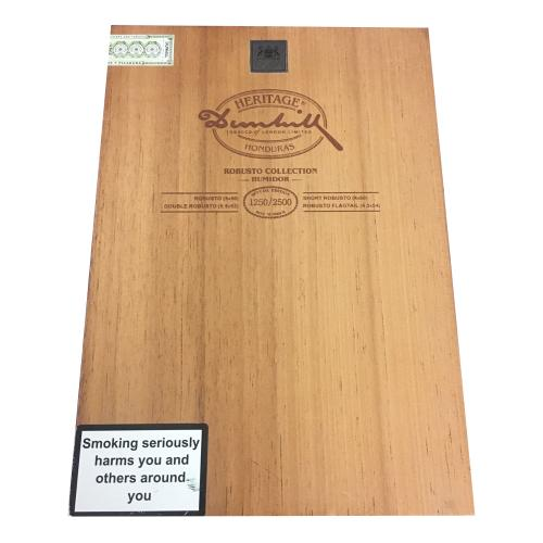 Empty Dunhill Heritage Robusto Collection Humidor