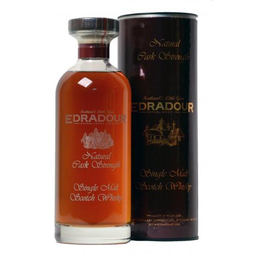 Edradour Cask Strength 2002 Vintage Sherry Cask Single Malt - 70cl 54%