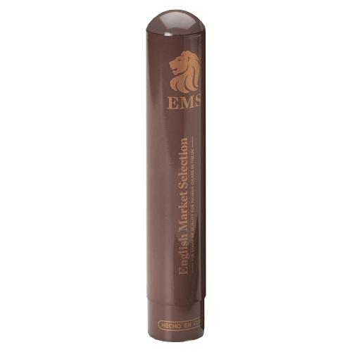 EMS Cigar Travel Tube - Brown Finish