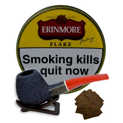 Erinmore Flake Pipe Tobacco 50g Tin