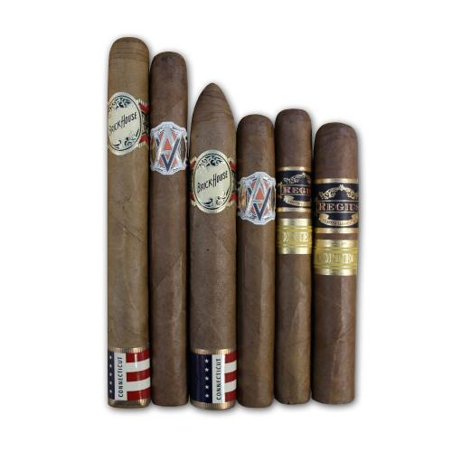Exclusive Connecticut Wrapper Sampler – 6 Cigars
