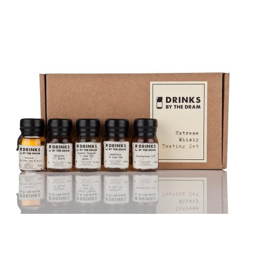 Drinks by the Dram Extreme Whisky Tasting Set - 5 x 3cl 51.8%