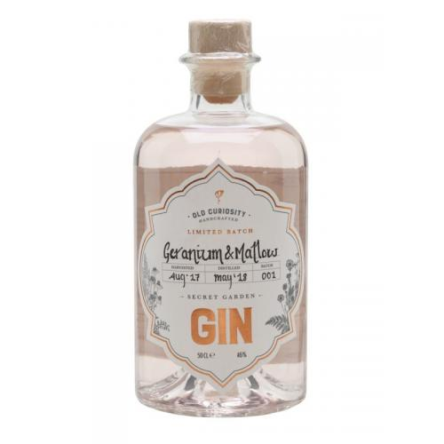 Old Curiosity Geranium and Mallow Gin - 20cl 46%