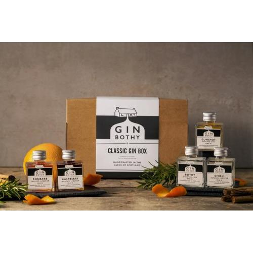Gin Bothy Classic Gin Box 5x5cl Pack