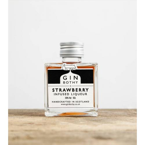 Gin Bothy Strawberry Gin Liqueur Miniature - 5cl 20%