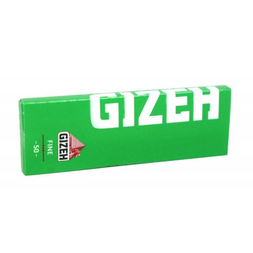 Gizeh Fine Green Rolling Papers 1 Pack
