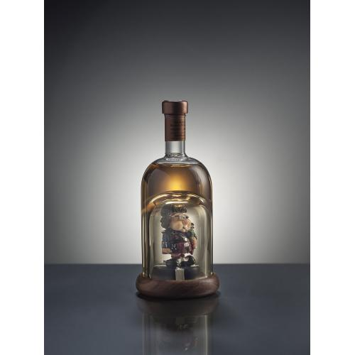Caricature Bagpipe Player Glass - 100ml (Stylish Whisky)