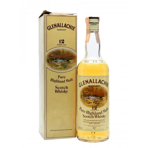 Glenallachie 1969 12 Year Old Whisky - 75cl 40%