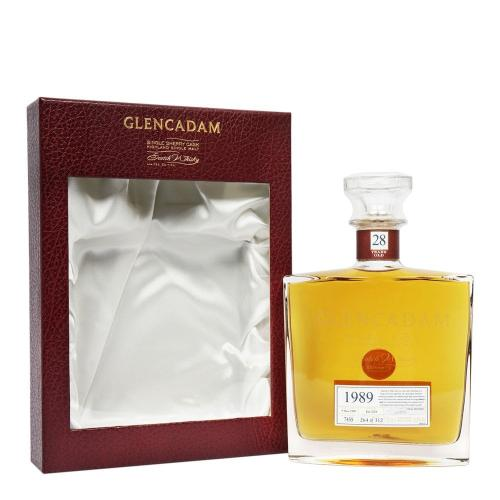 Glencadam 28 Year Old 1989 Single Cask Scotch Whisky - 70cl 53%