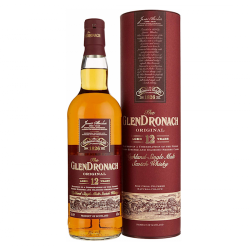 Glendronach 12 Year Old Original - 70cl 43%