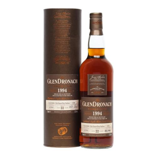 Glendronach 22 Year Old 1994 Cask 1376 Single Malt Scotch Whisky - 70cl 53.2%