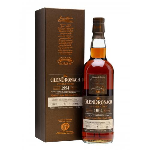 Glendronach 21 Year Old 1994 (cask 3274) Batch 13 - 70cl 53.1%