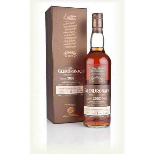 Glendronach 13 Year Old 2002 (cask 4651) Batch 13 - 70cl 54.8%