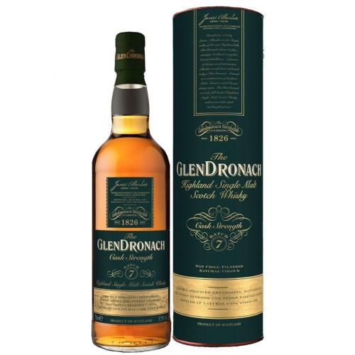 Glendronach Cask Strength Batch 7 Single Malt Scotch Whisky - 70cl 57.9%