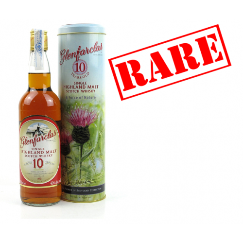 Glenfarclas 10 Year Old Vintage Single Malt Scotch Whisky - 70cl 40%