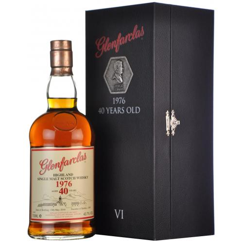 Glenfarclas 40 Year Old 6th Release Limited Edition Whisky- 70cl 43%