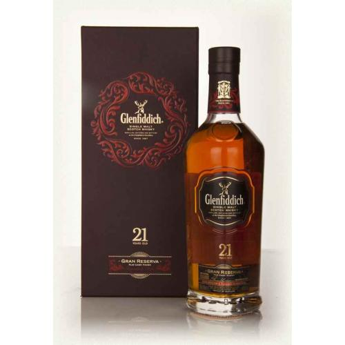 Glenfiddich 21 Year Old Gran Reserva Single Malt Scotch Whisky - 70cl 40%