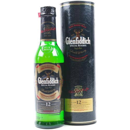 Glenfiddich 12 Year Old Special Reserve Single Malt Scotch Whisky - 35cl 40%