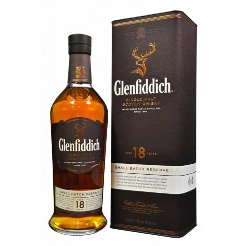 Glenfiddich 18 Year Old Small Batch Reserve - 70cl 40%