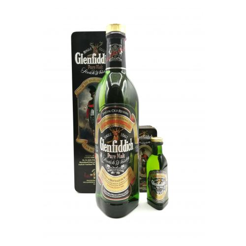 Glenfiddich Special Old Reserve Clan Montgomerie & 5cl Miniature - 75cl 40%