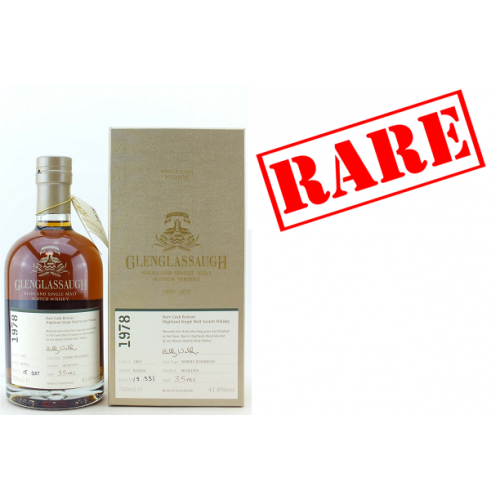 Glenglassaugh 1978 35 Year Old Sherry Hogshead (Cask 1803) Whisky - 70cl 41.6%