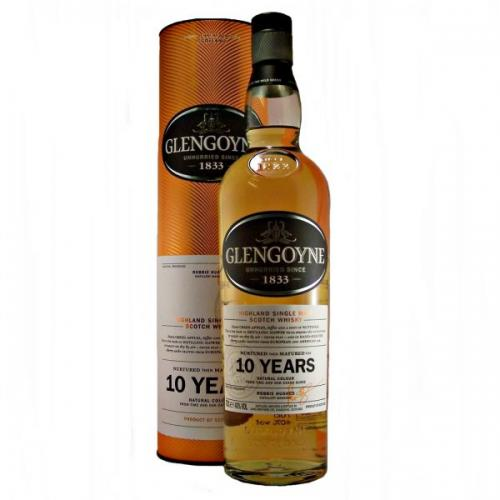 Glengoyne 10 Year Old Single Malt Scotch Whisky - 70cl 40%