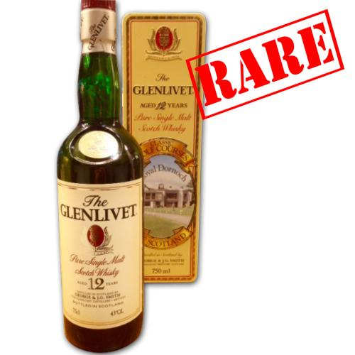 Glenlivet 12 Year Old Classic Golf Courses of Scotland Whisky - 75cl 40%