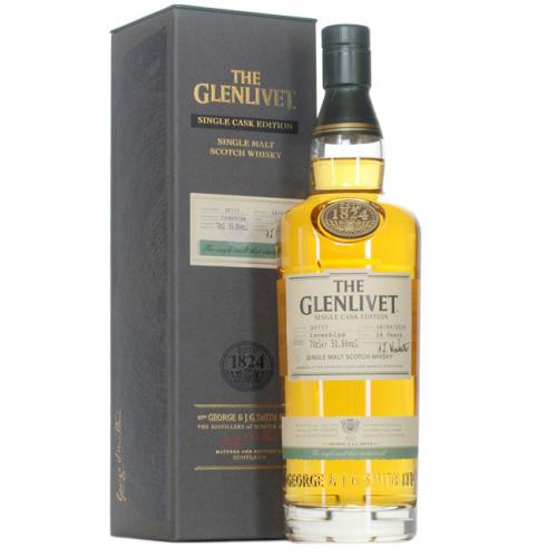 Glenlivet Inverblye Single Cask #30781 Single Malt Scotch Whisky - 70cl 50.8%