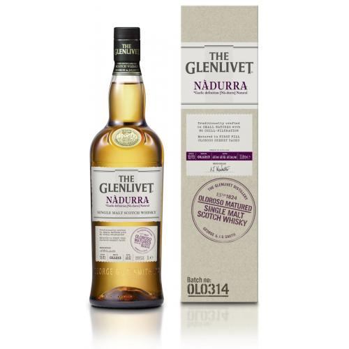 Glenlivet Nadurra Oloroso Single Malt Scotch Whisky - 70cl 60.7%