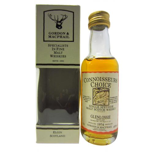 Glenlossie 1974 Connoisseurs Choice Single Malt Scotch Whisky Miniature - 5cl 40