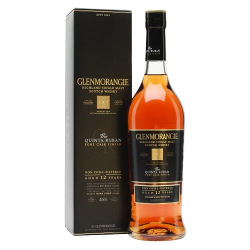 Glenmorangie 12 Year Old Quinta Ruban Whisky - 70cl 46%